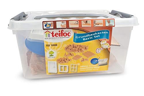 Teifoc TEI 1000 Steinbaukästen 1000-Basic Set, Multi Color, Grundsatz
