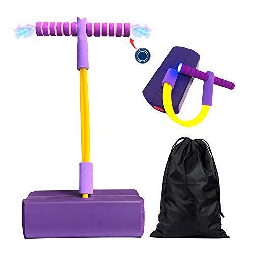 GDORUN Pogo Stick für Kinder mit Licht & Sound,Bungee Jumper,Schaum Pogo Pullover für Jungen & Mädchen...