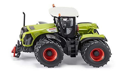 siku 3271, Claas Xerion 5000 Traktor, 1:32, Metall/Kunststoff, Grün, Achsschenkellenkung und Kupplung
