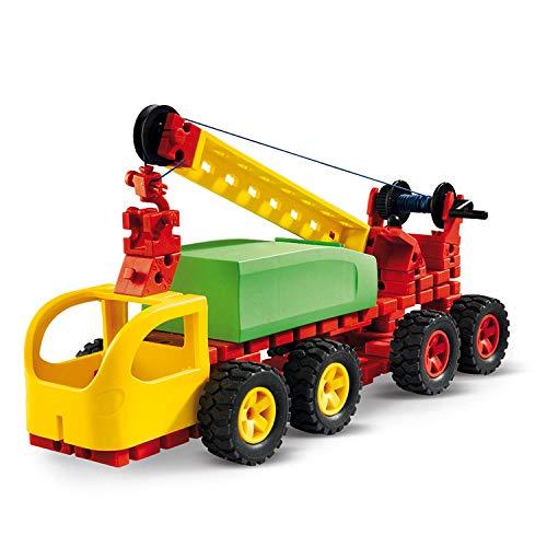 fischertechnik Jumbo Starter - das Spielzeug für ab 5 Jahre - der Baukasten für Kinder enthält große...