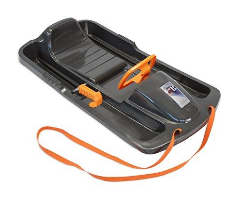 KHW Schlitten: Kunststoffrodel Snow Fox