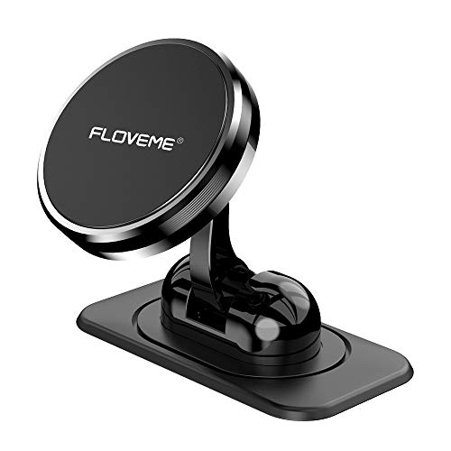 FLOVEME Handyhalterung Auto Magnet Armaturenbrett, Magnetische Handyhalter fürs Auto mit Klebrige Basis,...