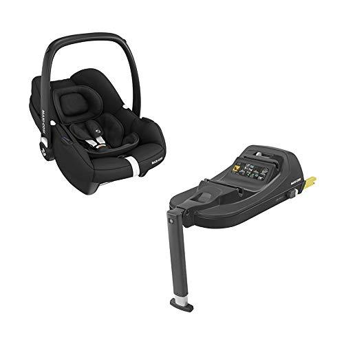 Maxi-Cosi Tinca i-Size Babyschale + passende ISOFIX Station, sehr leichter Gruppe 0+ Autositz (nur...