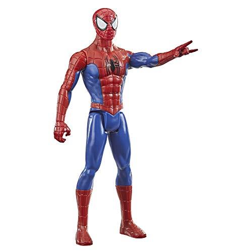 Hasbro E73335L2 Spider-Man Titan Hero Serie Spider-Man Action-Figur, 30 cm große Superhelden...