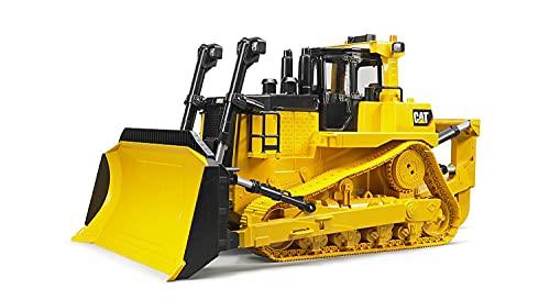 Bruder 02452 - Cat großer Kettendozer, Heckaufreißer mit Auf-/Abbewegung, Echtgliederkette,...