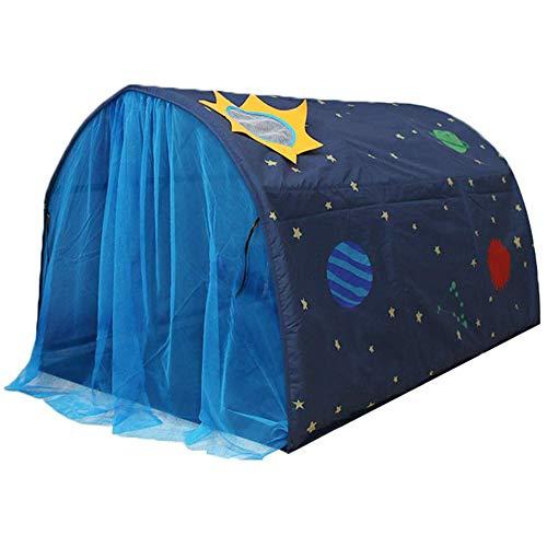 Powcan Kinderzelt für Mädchen Jungen Spielzelt für Kinder Galaxie Sternenhimmel Spielhaus Zelt Kinder...
