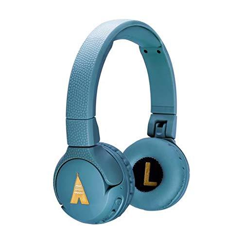 POGS Bluetooth Kopfhörer Kinder - The Gecko- Faltbare und Biegsame Kopfhörer mit Lautstärkeregler &...