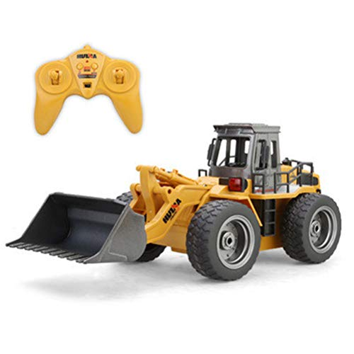 Fernbedienung RC BAU Bulldozer Spielzeug Traktor LKW Frontlader Bagger Fahrzeug 5 Kanal Vollfunktionale...