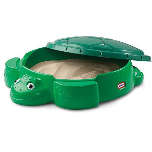 Little Tikes Turtle Sandbox - Outdoor-Spielset für Kleinkinder - Sicher und tragbar - Fördert kreatives...