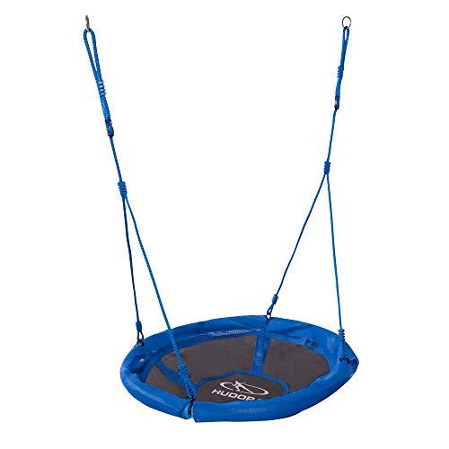 HUDORA 72126/01 Nestschaukel 90 cm, blau - Garten-Schaukel bis 100 kg belastbar