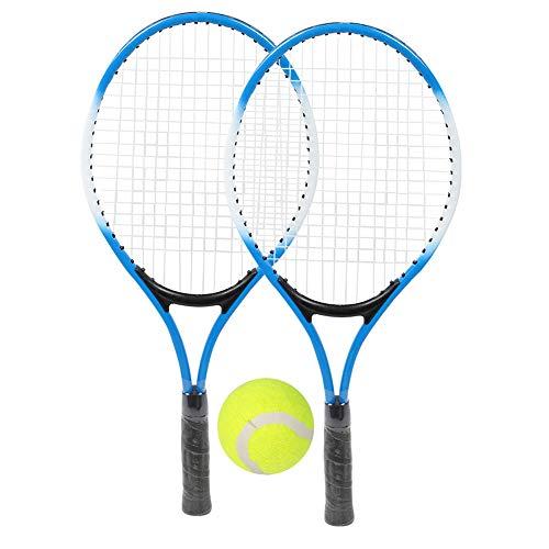 ROSEBEAR Tennisschläger aus Eisenlegierung für Kinder Anfänger Übungsschläger mit Ball Und...