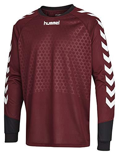 hummel Jungen T-Shirt Essential Gk Jersey T-Shirt, Zinfandel, 164-176