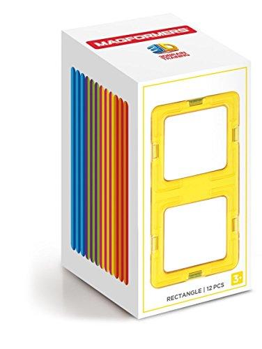 MAGFORMERS 713019Zubehörs Box von Rechtecke (12-teilig)