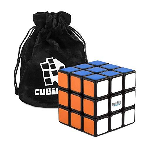 Rubiks 3x3 Speed Cube - Der originale 3x3x3 Rubik Zauberwürfel mit Beutel, der schnellste Speed Cube den...