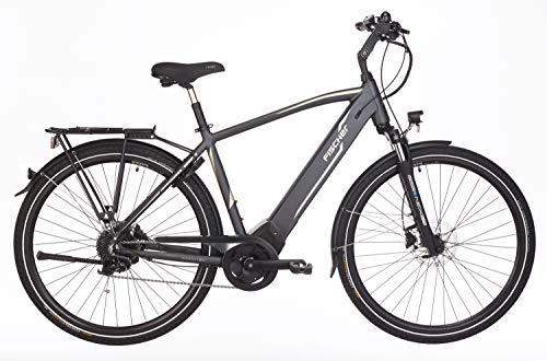 Fischer Herren - E-Bike Trekking VIATOR 5.0i, grau matt, 28 Zoll, RH 50 oder 55 cm, Brose Drive C...
