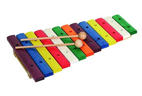 Buntes Holz-Xylophon