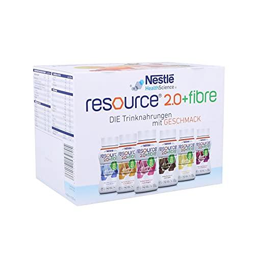 resource® 2.0+fibre ist eine hochkalorische Trinknahrung mit hochwertigem Milcheiweiß und löslichen...