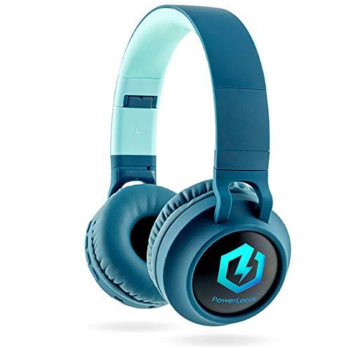 Kinderkopfhörer Bluetooth, PowerLocus Kinder Kopfhörer Over-Ear mit 85db Lautstärkebegrenzung...