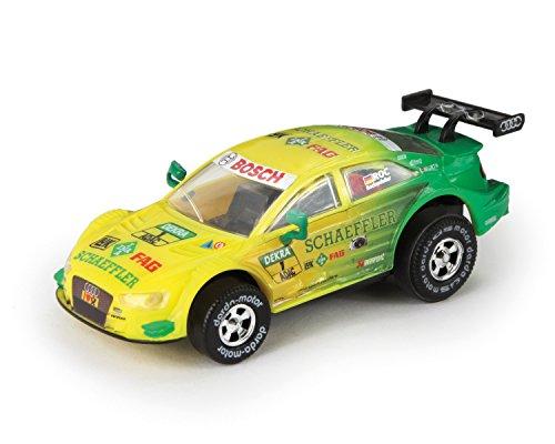 Darda 50383 Auto Audi RS 5 DTM Rockenfeller, Rennauto mit auswechselbaren Rückzugsmotor, Fahrzeug mit...