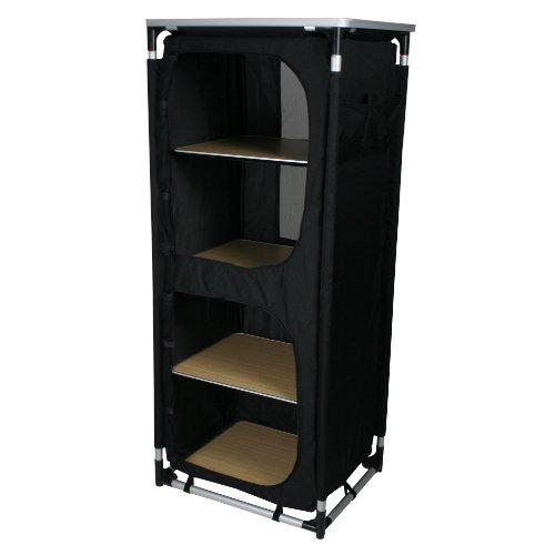 10T Campingschrank Cambox Quattro faltbare Campingküche mit Ablage 4 Fächer Lüftung Insektenschutz