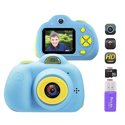 """OFUN Kinder Kamera, Mini Digitalkamera 2.0""""Bildschirm + Dual HD 18MP/1080P Objektiv + 16GB TF Karte +..."""