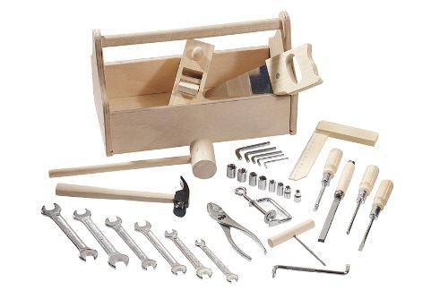 Howa: Kinder-Werkzeugkoffer, 32-teiliges Werkzeugset