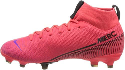 Nike Unisex-Kinder Superfly 7 Academy Fg/Mg Fußballschuhe, Rot (Laser Crimson/Black-Laser Crim 606),...