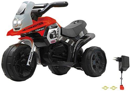 Jamara 460227 - Ride-on E-Trike Racer rot - 6V Akku, elektrisches Dreirad mit extra starkem...