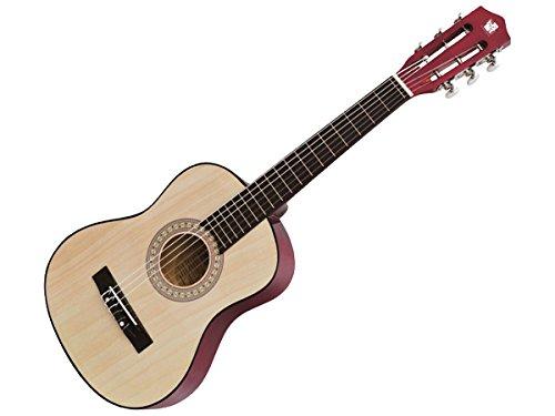 Concerto 681.01202 701202 Gitarre 75 cm, Kindergitarre aus Holz, Musikinstrument für Anfänger,...