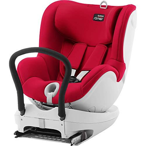 Britax Römer Kindersitz 0 - 4 Jahre  I 0 - 18 kg I DUALFIX Autositz Gruppe 0+/1 I Storm Grey