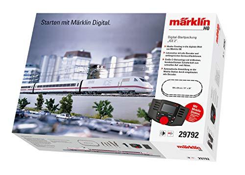 Märklin 29792 ‐ Digital-Startpackung ICE 2, Spur H0 Modelleisenbahn, viele Soundfunktionen, mit Mobile...