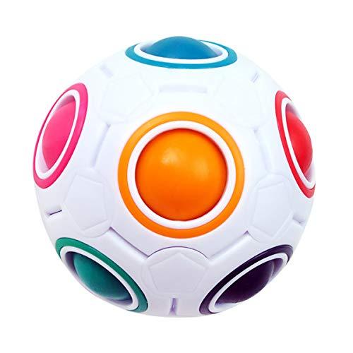 KidsPark Magic Ball Regenbogen Ball Zauberwürfel 3D Puzzle Ball Speed Cube Würfel Regenbogenball Toy...