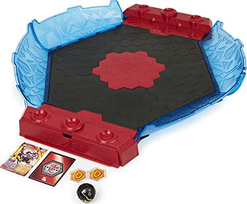 Bakugan Battle League Coliseum, hochwertige Arena mit gebogenen Seitenwänden und exklusivem Fusion...