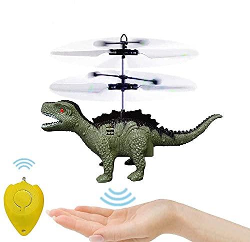 Hubschrauber Ferngesteuert Indoor, Mini Helikopter Spielzeug Ferngesteuert Fliegender Dinosaurier...