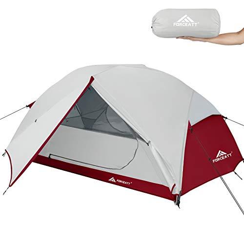 Forceatt Zelt 3 Personen Camping Zelt, Wasserdicht und Winddicht 3-4 Jahreszeiten Ultraleichtes...