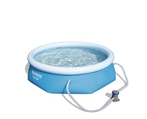 Bestway Fast Set Pool, rund, blau, 244 x 66 cm