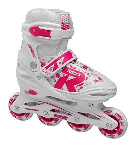 Roces Mädchen Jokey 2.0 Girl Inline-Skates, White-pink-Violet, 30-33