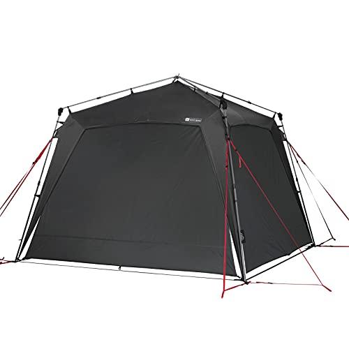 Qeedo Quick Space Camping Pavillon (3x3m) mit UV-Schutz (UV80) & Dark-Coating - windstabil, schneller...