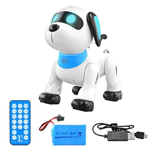 bestshop Smart Puppy, Ferngesteuerter Hund, RC Robotic Stunt Welpe Sprachsteuerung Spielzeug Handstand...