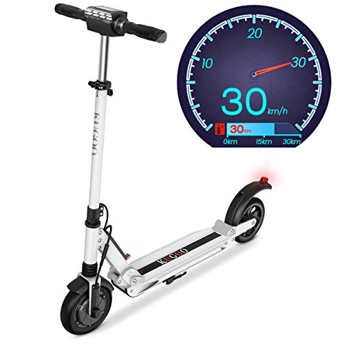 Elektro Scooter 350W Motor E-Scooter Geschwindigkeit 30 Km/h, 30 Km Laufleistung 8' Faltbarer...
