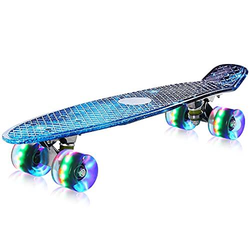 streakboard Skateboard, Komplettboard für Erwachsene Kinder Anfänger Jungen Mädchen Jugendliche, Mini...