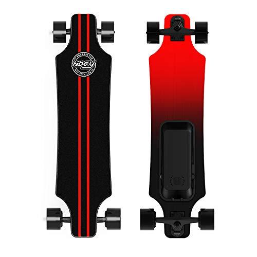 Hiboy Elektro Skateboard 30 km/h, 250 W Dual-Motor, 20 km Reichweite, elektrisches Longboard mit...