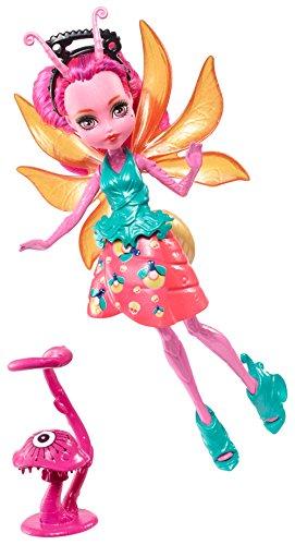 Mattel Monster High FCV50 - Garten-Monsterfreundinnen Insekt Lumina - Ein Glühwürmchen, Puppe