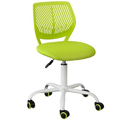 SoBuy FST64-GR Schreibtischstuhl Kinder Jugenddrehstuhl Drehstuhl Bürostuhl mit Rücklehne Arbeitsstuhl...