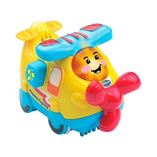 Vtech 80-516904 Tut Tut Baby Flitzer Propellerflugzeug Babyspielzeug, Mehrfarbig