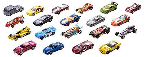 Hot Wheels - 1:64 Die-Cast Auto Geschenkset mit 20 Spielzeugautos