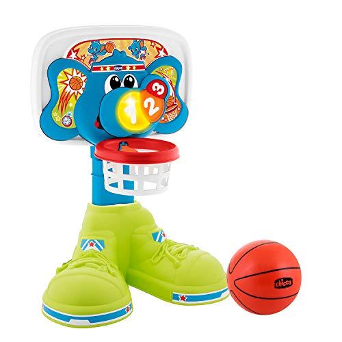 Chicco Basket League Elektronischer Basketballkorb Kinder, Mini Basketballkorb für Innen mit Geräuschen...