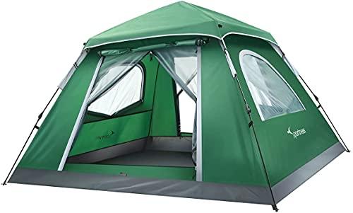 Zelt, Sportneer Wurfzelt Zelte 2-3 Personen Campingzelt, Großes Familienzelt Sonnenschutz für Outdoor...