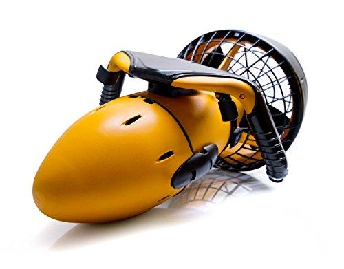 SeaScooter Unterwasser Tauchscooter Wasser Propeller Scooter 300W bis zu 6km/h schnell toller Unterwasser...
