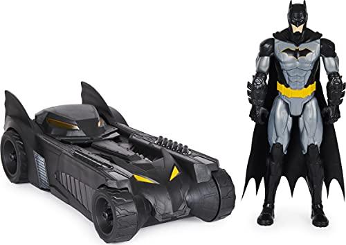 Batman Batmobile mit 30cm Batman-Actionfigur